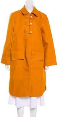 Trademark Collar Long Coat