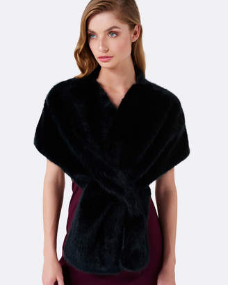Forever New Sophia Faux Fur Wrap