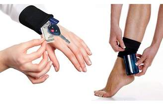LACASA USA Tuck Away Fitness Wrist and Ankle Wallet Transform