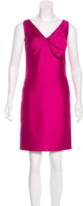 Valentino Silk & Wool-Blend Sheath Dress