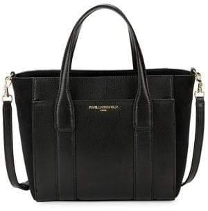 Karl Lagerfeld Paris Classic Logo Satchel Bag