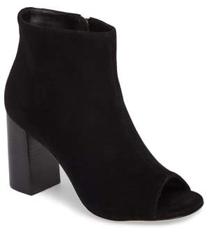 Johnston & Murphy Lizzie Peep Toe Bootie