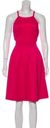 Calvin Klein Pleated Knee-Length Dress