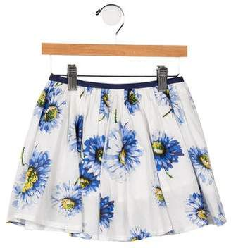 Morley Girls' Woven Floral Skirt w/ Tags