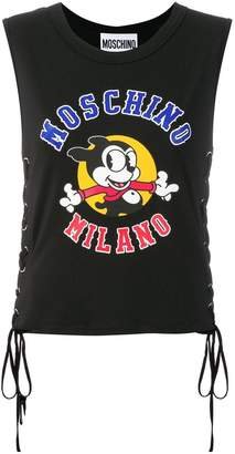 Moschino vintage Mickey tank top