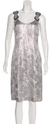 Tory Burch Metallic Shift Dress w/ Tags
