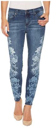 Liverpool Penny Ankle Skinny in Vintage Super Comfort Stretch Denim in Montauk Mid Blue Women's Jeans