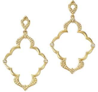 Armenta 18K Yellow Gold Sueno Dulcinea Diamond Cravelli Earrings