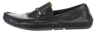 Gucci Leather Driving Loafers