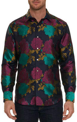Robert Graham Limited Edition Tango Floral Silk Sport Shirt
