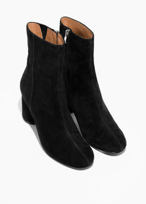 High shaft ankle boot
