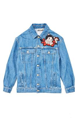 Moschino Porky & Petunia Pig Denim Jacket