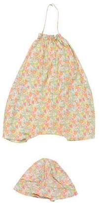Makie Girls' Two-Piece Floral Print Set