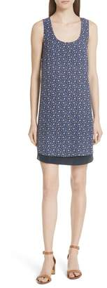 Tory Burch Sydney Sleeveless Silk Dress
