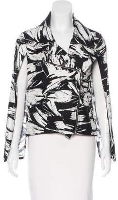 Yigal Azrouel Printed Zip-Up Jacket