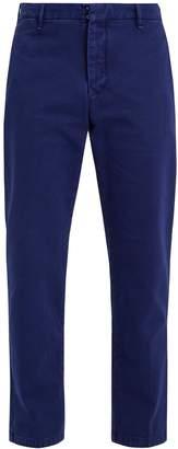 J.w.brine J.W. BRINE Austin cotton-drill cropped trousers