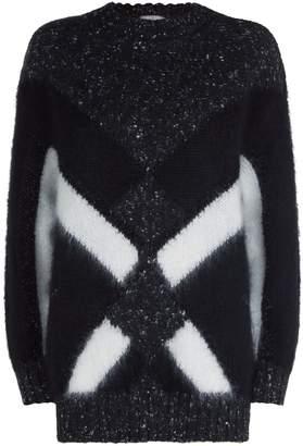 Alberta Ferretti Geometric Design Sweater