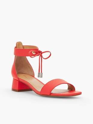 Talbots Naomi Leather Sandals