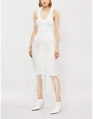 Dion Lee Xray cutout jersey dress