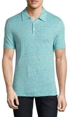 Zachary Prell Calluna Heathered Polo
