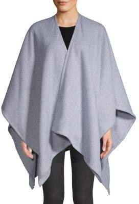 Rag & Bone Pinstriped Merino Wool Ruana