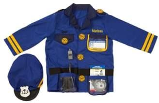 Melissa & Doug Personalized Police Officer Costume Set