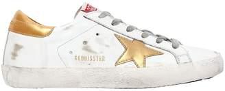 Golden Goose 20mm Super Star Metallic Leather Detail