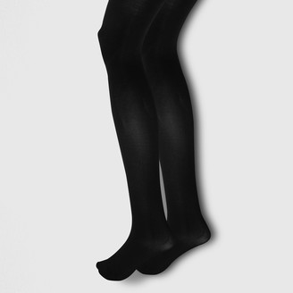 d443a8ede50 River Island Womens Black opaque tights multipack