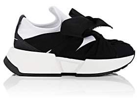 MM6 MAISON MARGIELA Women's Intertwined-Tie Tech-Fabric Sneakers - Black