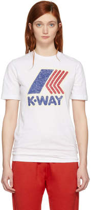 DSQUARED2 White K-Way Edition T-Shirt