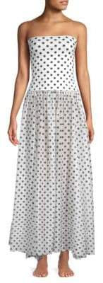 Caroline Constas Marianna Floor-Length Dress
