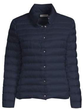 Peserico Snap Front Puffer