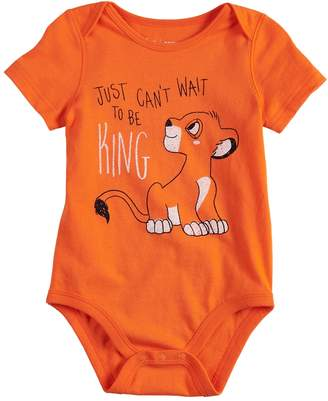 Disneyjumping Beans Disney's The Lion King Baby Boy Simba Bodysuit by Jumping Beans