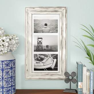 Beachcrest Home Souhail Rustic Wash Picture Frame
