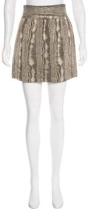Jenni Kayne Wool Mini Skirt