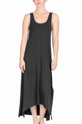 Lilla P Side Slit Maxi Dress