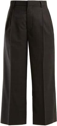Miu Miu Wide-leg check trousers