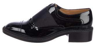 Barbara Bui Patent Leather Laceless Oxfords w/ Tags