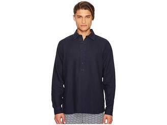 Orlebar Brown Ridley Riviera Linen Popover Shirt