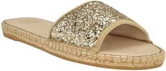 Andrew Stevens Espadrille Flat Sandals - Candice