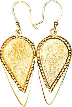 Alexander Betty Smooth Tip Spear Head Earrings