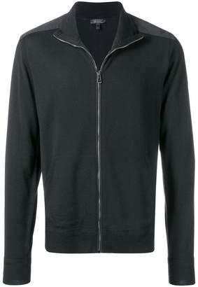 Belstaff zip front high neck jacket