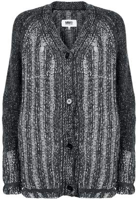 MM6 MAISON MARGIELA striped cardigan