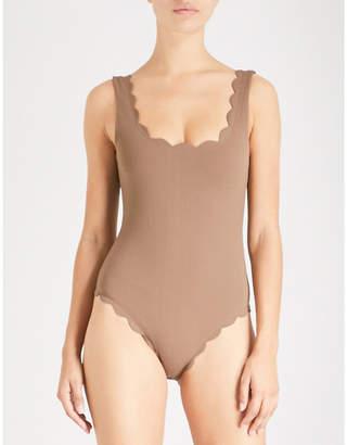 Marysia Swim Palm Springs round-neck swimsuit
