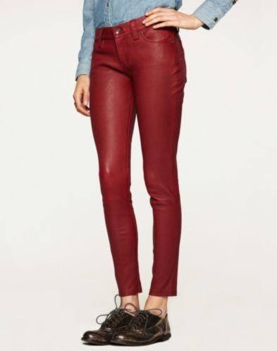 Lucky Brand Leather Charlie Skinny