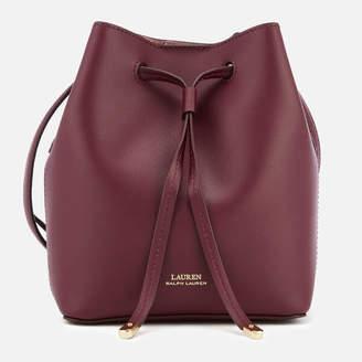 Lauren Ralph Lauren Women's Debby Mini Drawstring Bag - Merlot/Rose Smoke