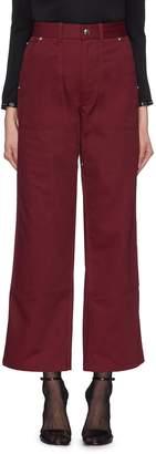Helmut Lang Twill wide leg carpenter pants