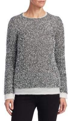 Comme des Garcons Woven Metallic Sweater