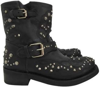Ash Leather biker boots