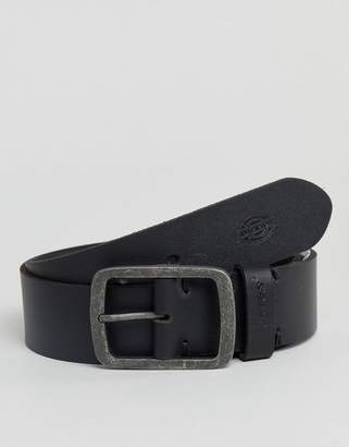 Eagle Lake leather belt in black